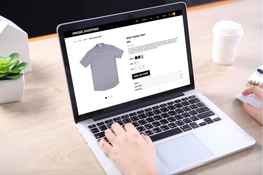 Magento 1 vs Magento 2 ecommerce laptop shopping
