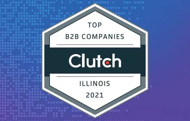 Clutch Award 2021 in Hexagon